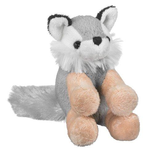 Wolf Stuffed Grey Wolf Toy By Wild Life Artist