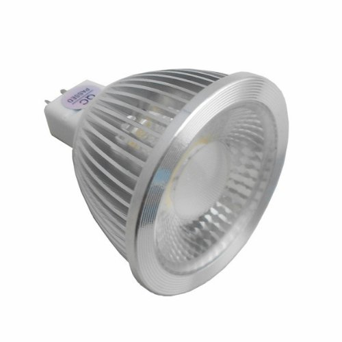 Generic Cob Spotlight 5W Mr16 Gu5.3 Non-Dimmable 4000K 38 Deg 110V Pack Of 10