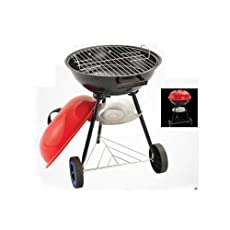 KETTLE CHARCOAL BARBECUE GRILL BBQ CAMPING 037