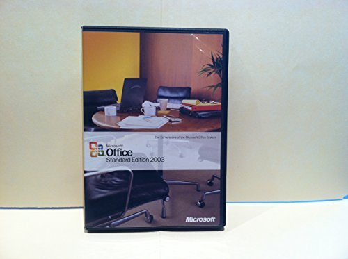 Microsoft Office Standard Edition 2003 (Windows Office 2003 compare prices)