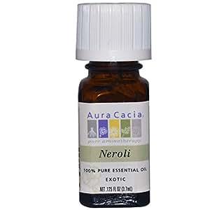 AURA CACIA, Essential Oil Neroli (citrus aurantium) - .125 oz