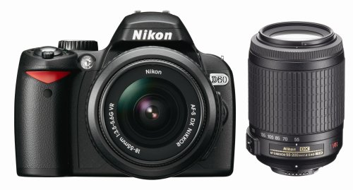 Nikon D60 (with 18-55mm VR and 55-200mm VR Lenses)
