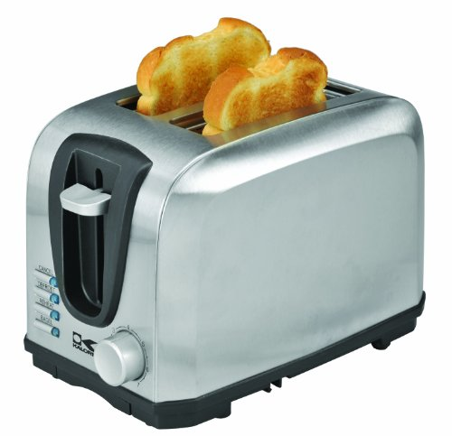 Kalorik Stainless Steel Toaster, 2-Slice