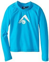 Kanu Surf Little Boys\' Platinum Long Sleeve Rashguards, Blue, 2T