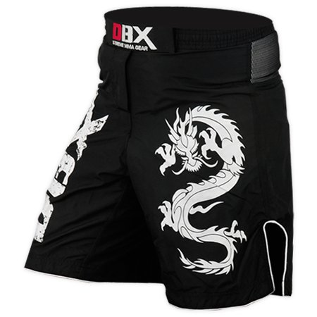 [MMA Grappling Shorts UFC Mix Cage Fight Kick Boxing Fighter Short - M-L-XL-XXL (XXL)] (Lion Costume Philippines)