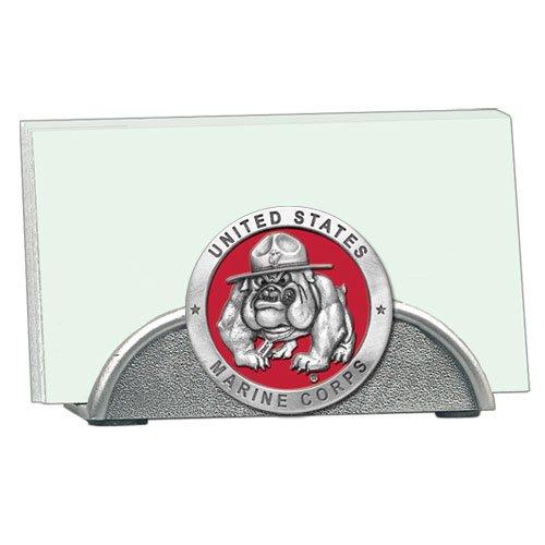 USMC Bulldog Business Card Holder