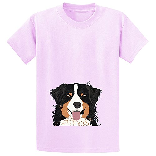 Shepherd Cute Pastel Aussie Owner Gifts Must Haves For Dog Person Kids Shirts (Biker Lil Friend compare prices)