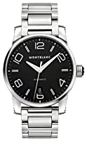 Montblanc Timewalker Automatic Black Dial Stainless Steel Mens Watch 105962 from Montblanc
