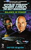 Balance of Power (Star Trek: The Next Generation #33) (0671520032) by Dafydd Ab Hugh