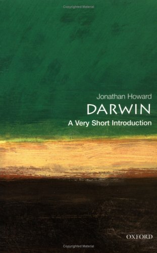 Darwin: A Very Short Introduction (Very Short Introductions), Jonathan Howard