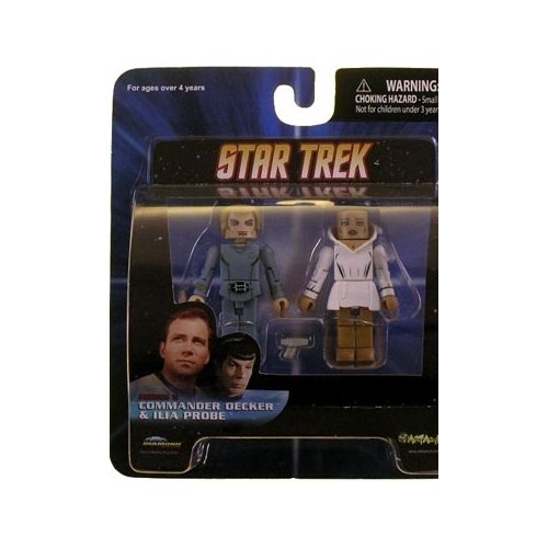 Minimates: Star Trek Series 5 Commander Decker & Ilia Probe Action Figure 2-Pack