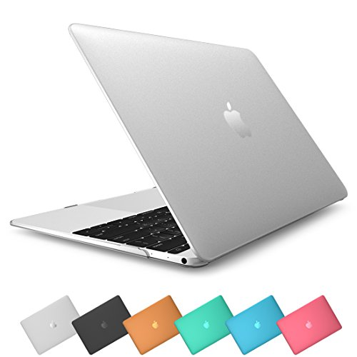 Apple The New Macbook Case, Retina Display 12 '' Inch Laptop Computer [2015 Release] i-Blason [Gold, Space Gray, Silver], Transparent Hard Shell Protective Case, Smooth Matte Finish (Frost Clear)
