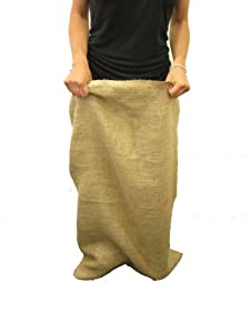 LA Linen™ 23x36-Inch Natural Burlap Potato Bags, Pack Of 12.