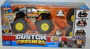 Hot Wheels Monster Jam Custom Crushers Team Hot Wheels Firestorm