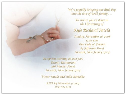 Baptism Invitations Photo front-270139