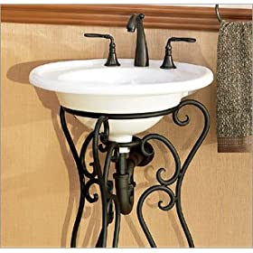 St. Lucia Vessel Sink Finish: White