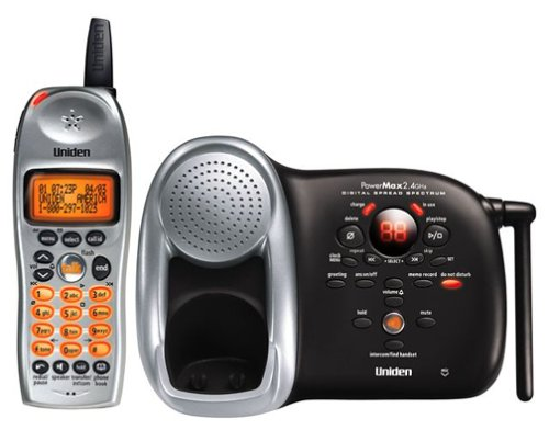 Uniden DCT 648 2.4 GHz Expandable Cordless Phone with Answer