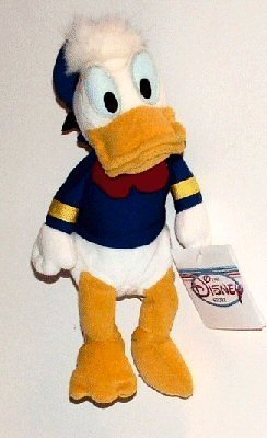 Disney Mini Beanbag Donald Duck - 1