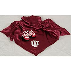 Indiana Hoosiers Blanket Set