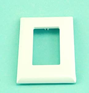 White Snap-on Replacement Wall Plate
