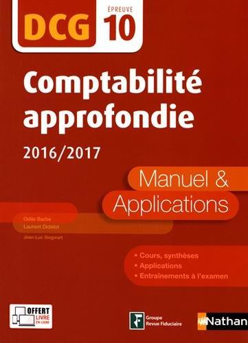 Comptabilité approfondie 2016/2017