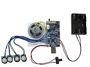 USB6M - 300 second USB recording module WITH LIGHT SENSOR
