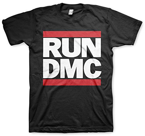 Bravado Men's Run Dmc Logo T-Shirt available in sizes from S to XXXL.