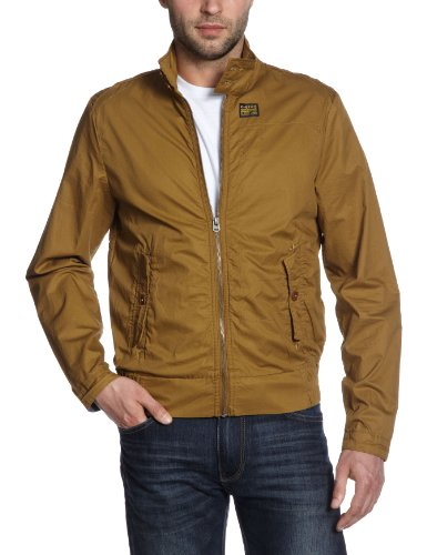 G-Star Men's Fleet Harrington Ultra Jkt - 82501 Jacket Beige (Tobacco 248) 48/50