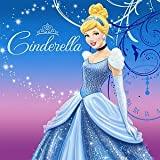 Disney Cinderella Sparkle Lunch Napkins (16 count) Party Accessory