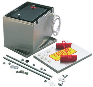 Taylor Cable 48101 Aluminum Battery Box with 16-Ft 2-Gauge Battery Cable Kit