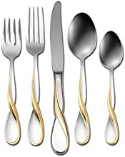 Oneida Golden Aquarius 5-Piece Flatware Place Setting Service for 1