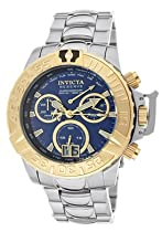 Invicta Mens Reserve Subaqua Noma III Limited Swiss Made Chronograph Blue Dial Watch 10647