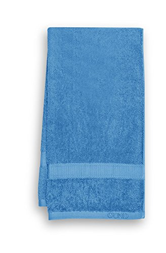 GUND Bear Essential Ringspun Bath Towel, Circus Blue, 24'' By 48''