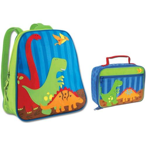 Stephen Joseph Dinosaur Backpack And Lunch Box Combo - Boys Backpacks front-923073