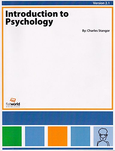 INTRODUCTION TO PSYCHOLOGY,VERSION 2.1