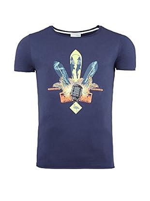 SUMMERFRESH Camiseta Manga Corta Enzo (Azul Oscuro)