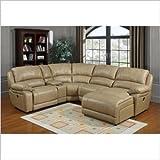 PRI Brisbane Sectional Sofa in LV Taupe