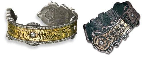 Steampunk Cuff Bracelet by Alchemy Gothic