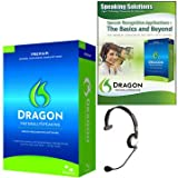 Speaking Solutions Dragon NaturallySpeaking Premium 11 Academic Bundle