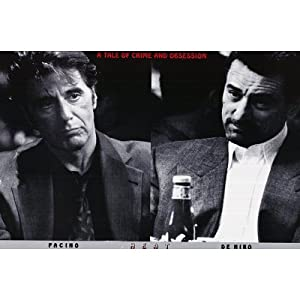 (24x36) VINTAGE Heat DENIRO PACINO MOVIE Poster RARE PICTURE