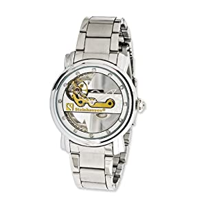 Pont De Pure Automatic Stainless Steel 40mm Watch by Steinhausen, Best Quality Free Gift Box Satisfaction Guaranteed
