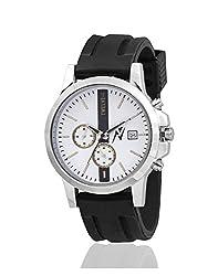 Yepme Mens Chronograph Watch - White/Black_YPMWATCH2019
