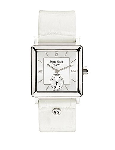 Bruno Söhnle Women's Quartz Watch Analogue Display and Leather Strap 17-13120-291