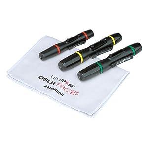 HAKUBA レンズペン2 プロキット 【3本セット+収納ファイバークロス】 ブラック KMC-LP11BKT