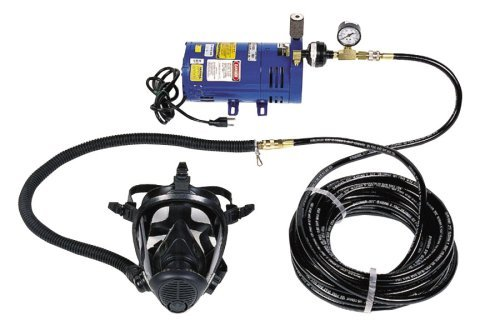 Survival Air Systems 3800-30 Economy 1-Man Full Face Mask System (Full Face Air System compare prices)