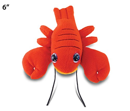 Big Eye Red Lobster Plush, 6""