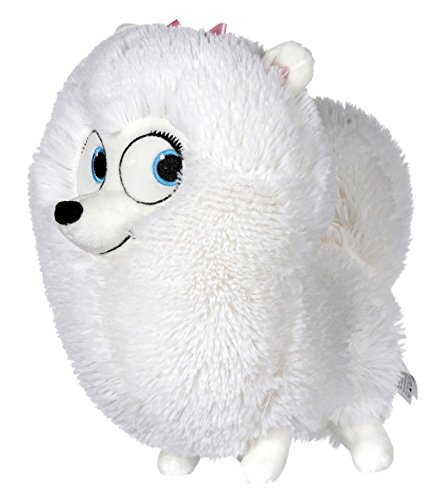 Pets - Vita da Animali (The Secret Life of Pets) - Gidget, cane bianco 17cm - Qualità super soft