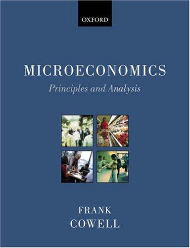 Fre microeconomic homework help