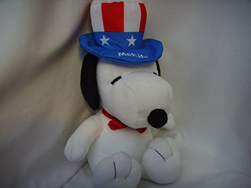 snoopy-dog-peanuts-large-16-plush-toy-metlife-with-patriotic-flag-hat