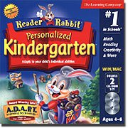 Brand New Learning Company Reader Rabbit Personalized Kindergarten Deluxe More Than 50 Skills